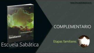Complementario | Lección 9 | Tiempo de perdida | Escuela Sabática Semanal