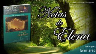 Notas de Elena | Domingo 19 de mayo 2019 | Padres sin hijos | Escuela Sabática
