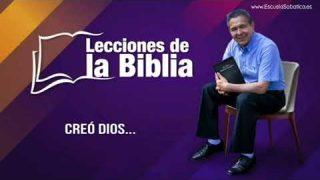 5 de julio 2019 | Creó Dios | Escuela Sabática Pr. Daniel Herrera