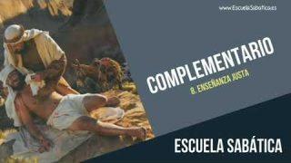 Complementario   Lección 8   Enseñanza justa   Escuela Sabática Semanal