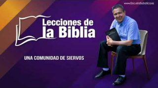 27 de septiembre del 2019   Una comunidad de siervos   Escuela Sabática Pr. Daniel Herrera