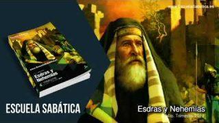 Lección 5 | Jueves 31 de octubre del 2019 | El ejemplo de Nehemías | Escuela Sabática Adultos