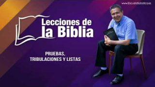 Viernes 29 de noviembre del 2019 | Pruebas, tribulaciones y listas | Escuela Sabática Pr. Daniel Herrera