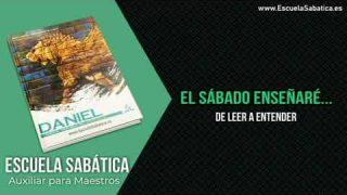Auxiliar | Lección 1 | De leer a entender | Escuela Sabática Semanal