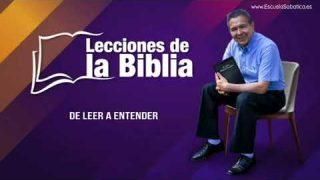Domingo 29 de diciembre del 2019   Cristo: el centro de Daniel   Escuela Sabática Pr. Daniel Herrera