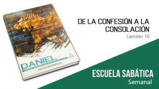 Lección 10 | De la confesión a la consolación | Escuela Sabática Semanal