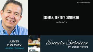 Escuela Sabática | Jueves 14 de mayo del 2020 | Pr. Daniel Herrera