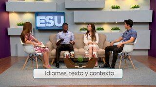 Lección 7 | Idiomas, texto y contexto | Escuela Sabática Universitaria