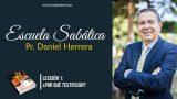 Lección 1 | ¿Por qué testificar? | Escuela Sabática Pr. Daniel Herrera