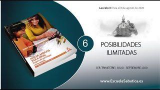 Lección 6 | Posibilidades ilimitadas | Escuela Sabática Semanal