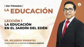 Jueves 1 de octubre | Escuela Sabática Pr. Ricardo Pimentel