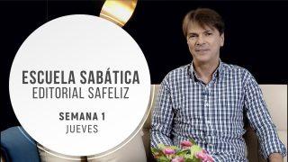 Jueves 1 de octubre | Escuela Sabática Pr. Ranieri Sales