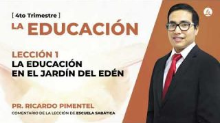 Miércoles 30 de septiembre | Escuela Sabática Pr. Ricardo Pimentel