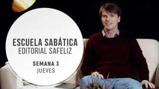 Jueves 15 de octubre | Escuela Sabática Pr. Ranieri Sales
