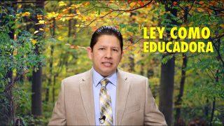 Lección 3 | La ley como educadora | Escuela Sabática Aquí entre nos