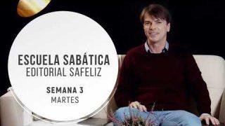 Martes 13 de octubre | Escuela Sabática Pr. Ranieri Sales