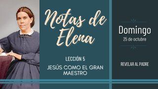 Notas de Elena | Domingo 25 de octubre del 2020 | Revelar al Padre | Escuela Sabática