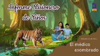 Carta Misionera de Niños – Sábado 21 de Noviembre