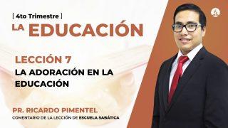 Lunes 9 de noviembre | Escuela Sabática Pr. Ricardo Pimentel