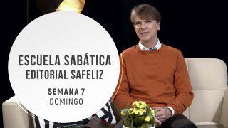 Domingo 8 de noviembre | Escuela Sabática Pr. Ranieri Sales