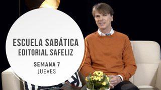 Jueves 12 de noviembre | Escuela Sabática Pr. Ranieri Sales