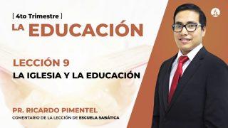 Miércoles 25 de noviembre | Escuela Sabática Pr. Ricardo Pimentel