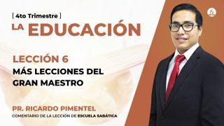 Miércoles 4 de noviembre | Escuela Sabática Pr. Ricardo Pimentel