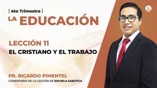 Miércoles 9 de diciembre | Escuela Sabática Pr. Ricardo Pimentel