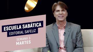 Martes 12 de enero | Escuela Sabática Pr. Ranieri Sales