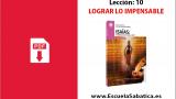 PDF | Lección 10 | Lograr lo impensable | Escuela Sabática