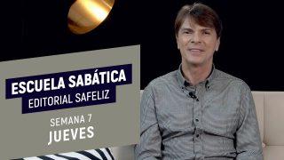 Jueves 11 de febrero | Escuela Sabática Pr. Ranieri Sales