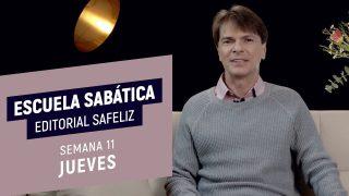 Jueves 11 de marzo | Escuela Sabática Pr. Ranieri Sales