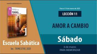 Lección 11 | Sábado 6 de marzo del 2021 | Para memorizar | Escuela Sabática Adultos
