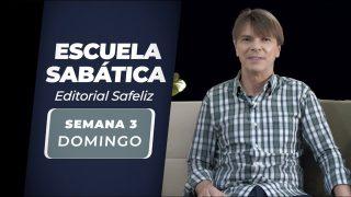Domingo 11 de abril | Escuela Sabática Pr. Ranieri Sales