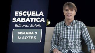 Martes 13 de abril | Escuela Sabática Pr. Ranieri Sales