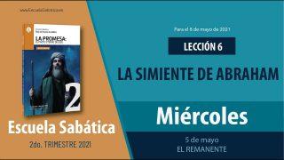 Escuela Sabática   Miércoles 5 de mayo del 2021   El remanente   Lección Adultos