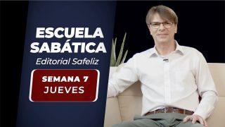 Jueves 13 de mayo | Escuela Sabática Pr. Ranieri Sales