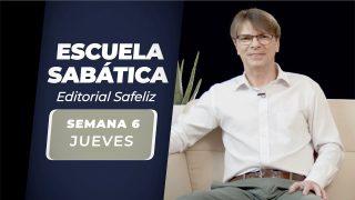 Jueves 6 de mayo | Escuela Sabática Pr. Ranieri Sales