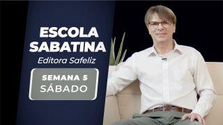 Sábado 1 de mayo | Escuela Sabática Pr. Ranieri Sales