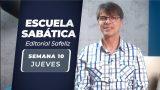 Jueves 3 de junio   Escuela Sabática Pr. Ranieri Sales
