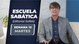 Martes 15 de junio | Escuela Sabática Pr. Ranieri Sales