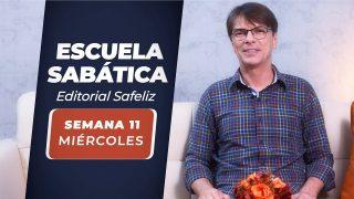 Miércoles 9 de junio   Escuela Sabática Pr. Ranieri Sales