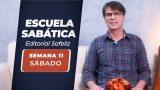 Sábado 5 de junio   Escuela Sabática Pr. Ranieri Sales