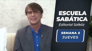 Jueves 29 de julio   Escuela Sabática Pr. Ranieri Sales