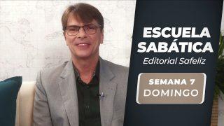 Domingo 8 de agosto   Escuela Sabática Pr. Ranieri Sales