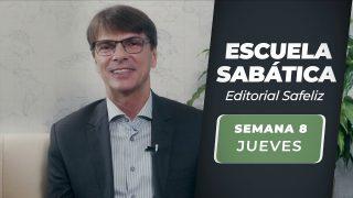Jueves 19 de agosto   Escuela Sabática Pr. Ranieri Sales