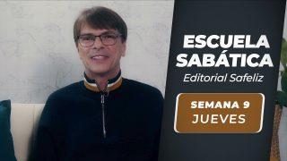 Jueves 26 de agosto   Escuela Sabática Pr. Ranieri Sales