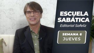 Jueves 5 de agosto   Escuela Sabática Pr. Ranieri Sales