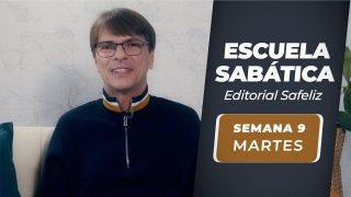 Martes 24 de agosto   Escuela Sabática Pr. Ranieri Sales
