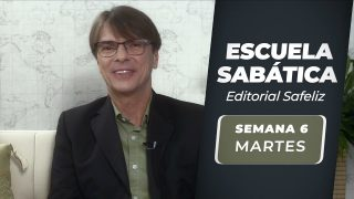 Martes 3 de agosto   Escuela Sabática Pr. Ranieri Sales